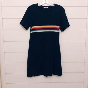 Mod Ref Dresses - Navy T-Shirt Dress